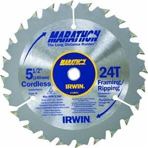Irwin Tools 24070 10-Inch by 40 Teeth Miter or Table Saw Blade with 5/8-Inch Arbor