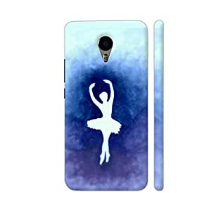 Colorpur Ballerina Blue Designer Mobile Phone Case Back Cover For YU Yunicorn | Artist: Miraculous