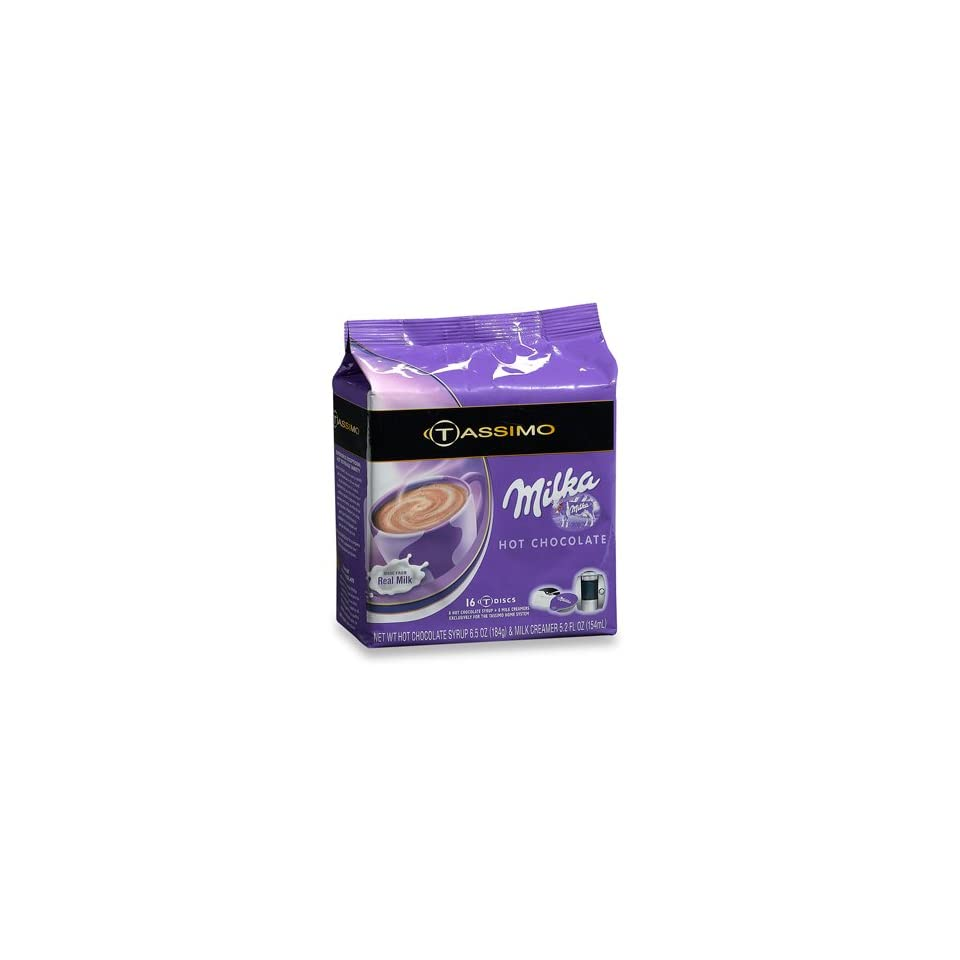 Tassimo Milka Hot Chocolate 16 T Discs On Popscreen
