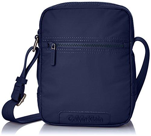 Calvin Klein Jeans METRO REPORTER, Borsa a tracolla uomo, Blu (Blau (BLUE WING TEAL 453)), 19x20x7 cm (B x H x T)