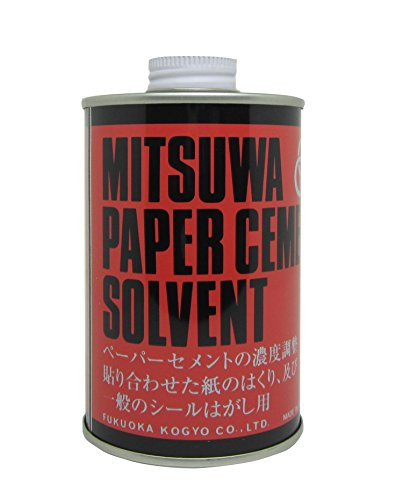 ミツワ ソルベント(溶解液)赤丸缶   280ml