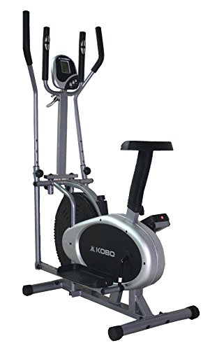 Kobo Exercise Bike / Exercise Cycle Orbitrac Fitness Home Gym Upright Ab Care Orbitrack  Silver:Black  available at Amazon for Rs.8485