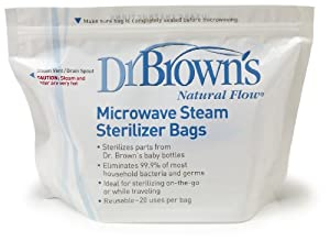 Dr. Brown's Microwave Steam Sterilizer Bags | Overstock.com