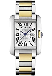 Cartier Tank Anglaise Mid-size Automatic Ladies Watch W5310047