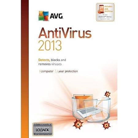 AVG Anti-Virus 2013, 3-User 2-Year