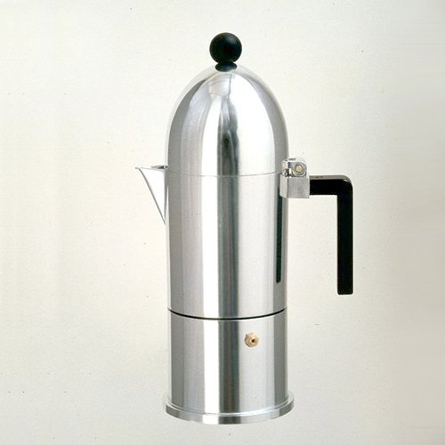 Alessi 9095/3 B La Cupola Espresso Coffee Maker 3 Cups