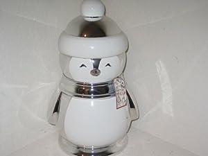 Amazon.com: Bath & Body Works Slatkin & Co. Christmas Holiday Elegant Silver and White Penguin ...