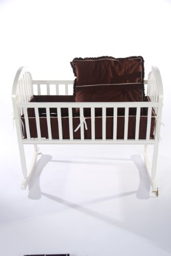 Imagen de Ropa de cama Baby Doll Go Green Cuna Organice Sábana, Chocolate