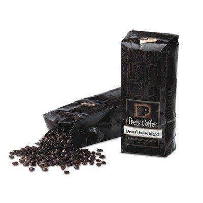 Peet's Coffee & Tea Decaf House Blend Whole Bean Coffee, 1 Pound