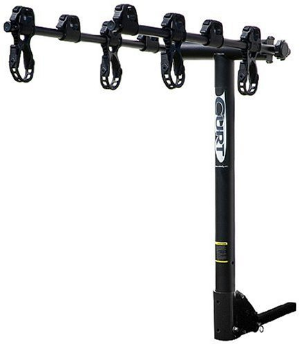 Curt Manufacturing 18024 Sport Series 4-Bike, Folding Rack