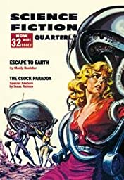 30 x 20 Stretched Canvas Poster Science Fiction Quarterly: Robot Attack