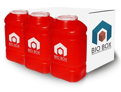 BioBox Medical Waste Disposal By Mail (With Sharps/Bio-Waste Containers) (Biohazard Container Mail compare prices)