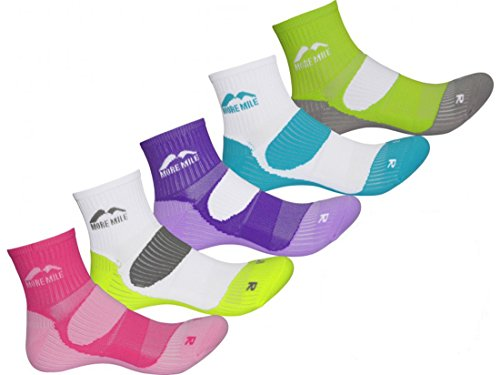 more-mile-womens-limited-edition-5-pair-pack-london-running-socks