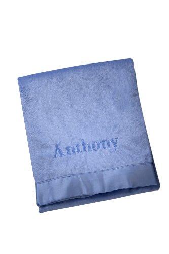 NoJo Personalized Velboa Blanket, Anthony