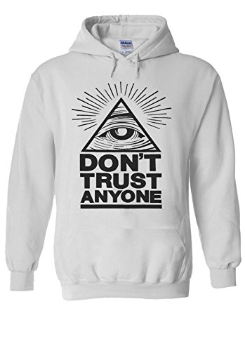 Illuminati-Eyes-Dont-Trust-Anyone-Novelty-White-Men-Women-Unisex-Hooded-Sweatshirt-Hoodie