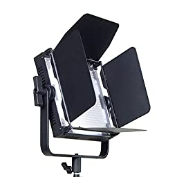 ePhotoInc Video Studio Photo Light Panels With V Mount Plate Adapter Photography Portrait Lighting Panel FST600SH