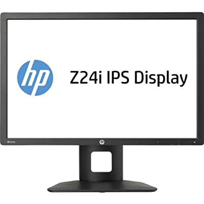 HP Z Display Z24i 24-Inch Widescreen LED Backlit Business IPS Monitor (Black)/ Aspect Ratio-16:10/ Response Rate...