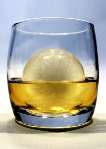 Scotch Solo Gift Set. 1 Scotch Glass And 1 Ice Ball Mold Set