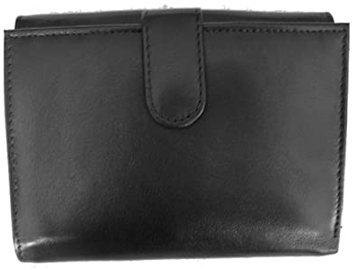 1642 Soft Nappa Leather - Large Flap Over Purse with Flap Over Coin Pocket Style 1007 17