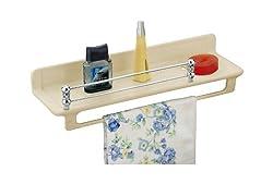Ciplaplast Designer Bathroom Shelf - Ivory