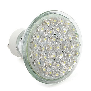 Gu10 2W 38-Led 120Lm Natural White Led Lamp Bulb (220-240V)