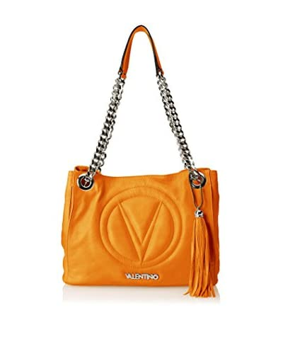 Valentino Bag by Mario Valentino Women's Luisa 2 Shoulder Bag, Dark Orange