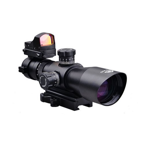 Read About Trinity Force 3-9x42 Tactical Rifle Scope With illuminated Range Finding Reticle Pattern ...