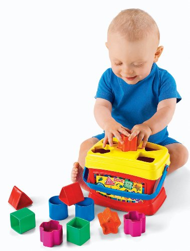Primeros bloques de Fisher-Price para bebés de Brilliant Basics