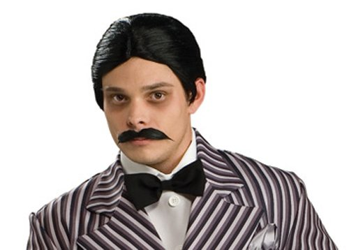 Rubie's Costume Co Men's The Addams Family Gomez Wig and Mustache Kit