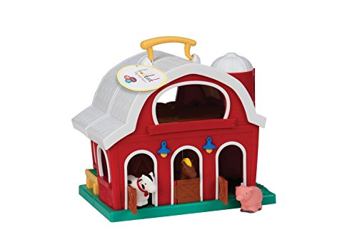 Battat Big Red Barn Play Set