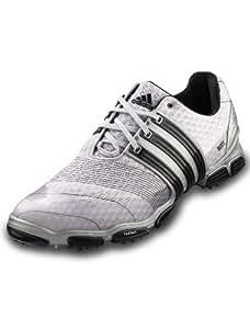 Adidas Tour360 4.0 Sport Wide Golf Schuhe Golfschuhe Herren Männer Metallic Silber Schwarz Größe D 40 2/3 UK 7
