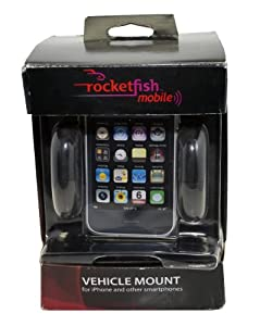 rocket fish mobile vehicle mount for iphone & smartphones by rocketfish mobile