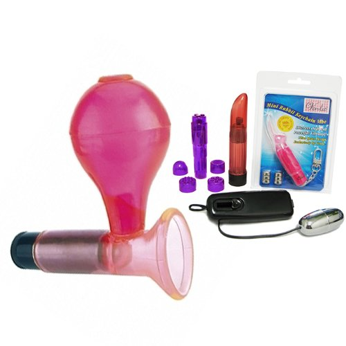 Pipedreams Wireless Vibrating Clit Sucker - Venla Sex Toy Pleasure Kit