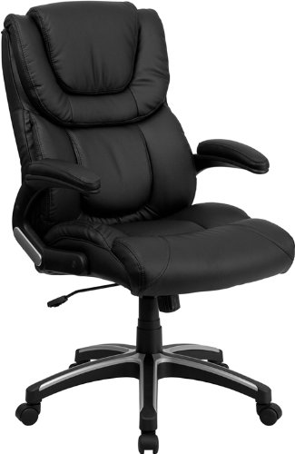 high-back-black-leather-executive-swivel-office-chair