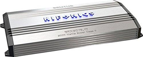 Hifonics BRX3016.1D Brutus Mono Super D-Class Subwoofer Amplifier, 3000-Watt (Hifonics D Class Amp compare prices)