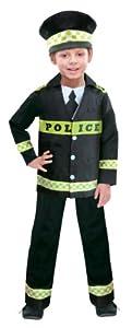 Déguisement enfant Garçon Officier de Police taille 6-8 ans