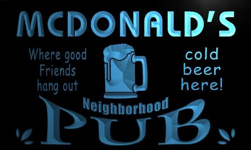 enseigne-lumineuse-pg1117-b-mcdonalds-neighborhood-home-bar-pub-beer-neon-light-sign