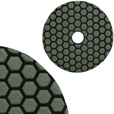 Super Premium 4 Dry Wet Final Buff (White) Grit Flexible Polishing Pad 1pc white or green polishing paste wax polishing compounds for high lustre finishing on steels hard metals durale quality
