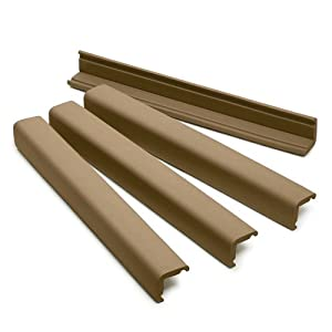 Prince Lionheart Jumbo Edge Guards, Chocolate