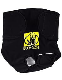 Body Glove Pet Dog Diaper Cover, Black, Small