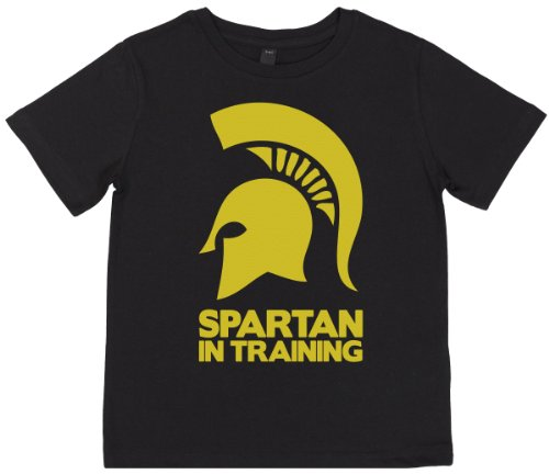 Phunky Buddha - Spartan In Training Unisex Children Top 11-12 Yrs - Black front-740435
