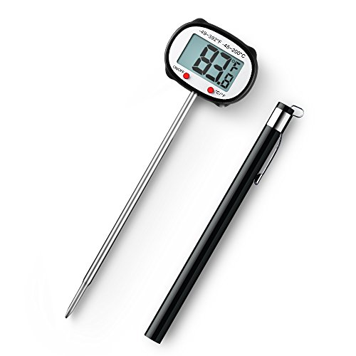 habor head rotate meat thermometer instant read digital. Black Bedroom Furniture Sets. Home Design Ideas