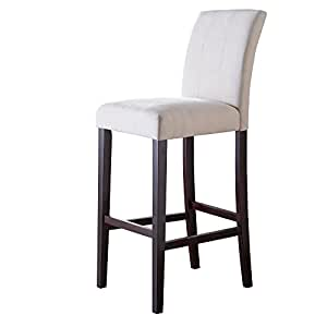 Amazon Com Palazzo 34 Inch Extra Tall Bar Stool Set Of 2