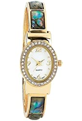 Navarre Ladies Wtch W/ Gold Jewel Band