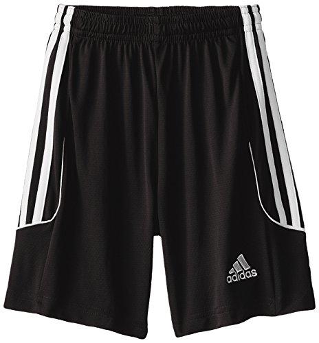 adidas Performance Boys Squadra 13 Shorts, Youth Small, Black/White Soccer Climalite Shorts