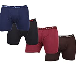 Lyril Men's Cotton Trunk (LYAmericanRoyalTrunksOE_Multi Color_100)