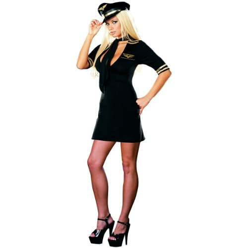 Mile High Captain Costume - Small - Dress Size 2-6