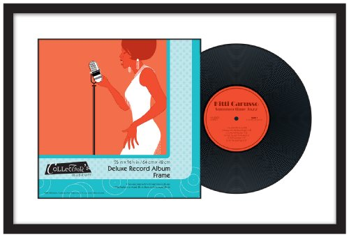 MCS Deluxe Record Album Frame, 25 by 16.5-Inch, Black Finish (Display Record compare prices)