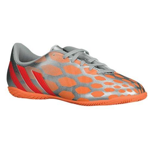 adidas predito instinct women indoor soccer shoe silver