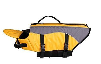 Vivaglory Dog Life Jacket Dog Lifesaver Vest Pet Reflective Life Preserver